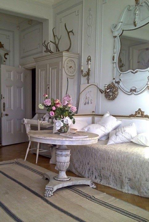 797 best Gustavian style images on Pinterest Swedish style - wohnzimmer deko shabby