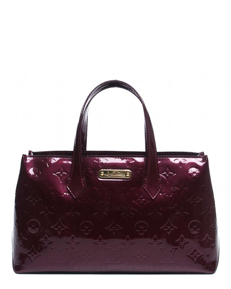 Louis Vuitton Rouge Fauviste Monogram Vernis Wilshire PM