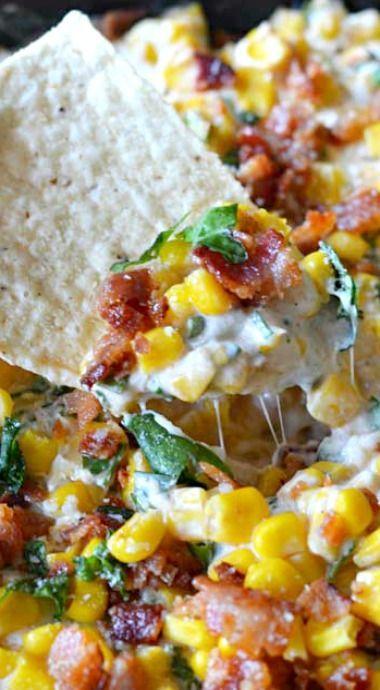 Cheesy Bacon Jalapeno Corn Dip