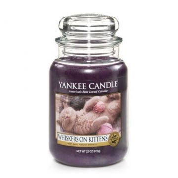Have: Yankee Candle Company Large Jar Candles   Whiskers on Kittens