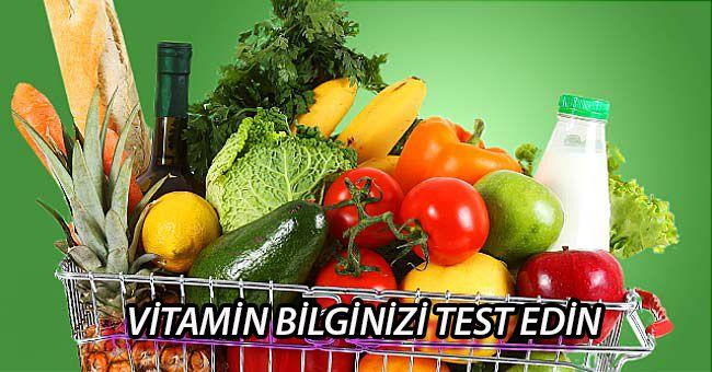 Vitamin Bilginizi Test Edin