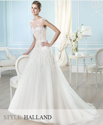 San Patrick Wedding Gown - Glamour Collection 2014 - Halland