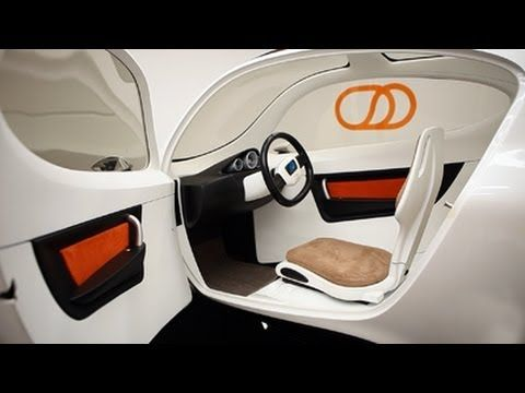 Lit Motors' C-1: A 2-wheel car? Or untippable motorcycle? I'm thinking Tron bike! Yes, I like it!