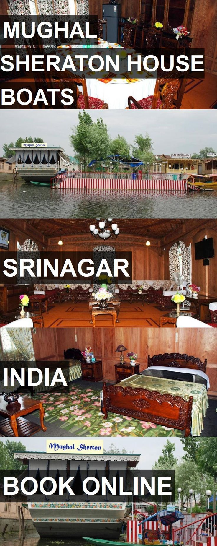 Hotel MUGHAL SHERATON HOUSE BOATS in Srinagar, India. For more information, photos, reviews and best prices please follow the link. #India #Srinagar #MUGHALSHERATONHOUSEBOATS #hotel #travel #vacation