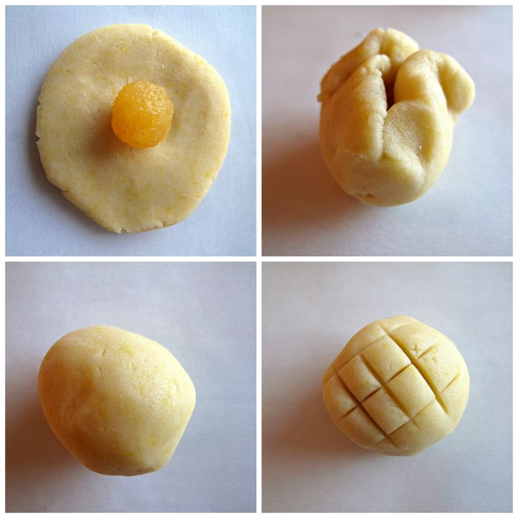 Pineapple Cookies (凤梨酥) for Chinese New Year- Join in the celebration of Chinese New Year with these melt-in-your-mouth buttery shortbread with a fruity pineapple center! @ themondaybox.com More