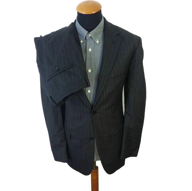 ber ideen zu hugo boss anzug auf pinterest anz ge m nner graue anz ge und krawatten. Black Bedroom Furniture Sets. Home Design Ideas