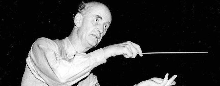 Wilhelm Furtwängler, chief conductor of the Philharmonic 1922-1934 and 1952-1954.