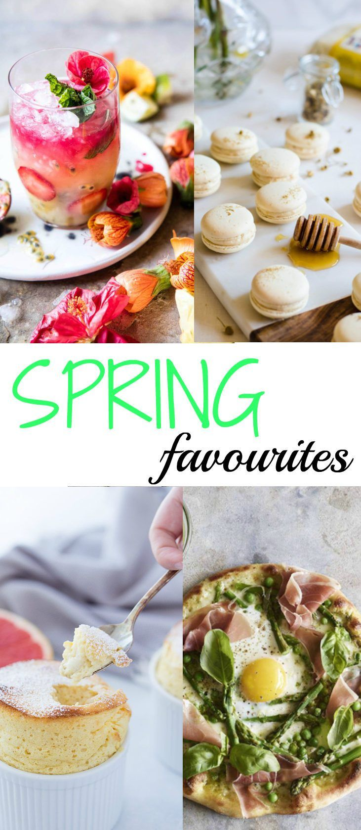 Are you ready for Spring? I know I am! Today I share with you some of my favourite blogs with all sorts of recipes to get that Spring feeling.