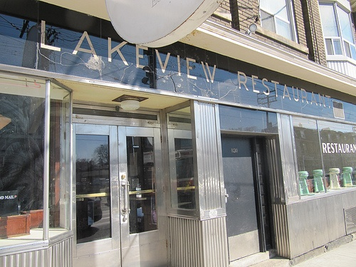 Lakeview Restaurant- 1132 Dundas Street West  Great service and atmosphere! Get the fish and chips- the serving size will keep you full for 2 days.