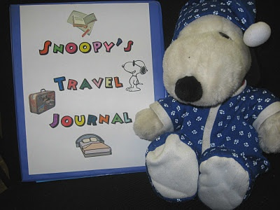 Classroom materials: Snoopy goes home to help students improve writing skills.