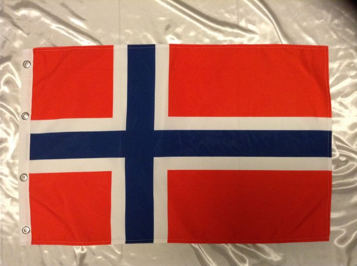 Bandera Noruega 90 x 60 cm