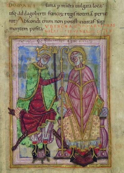 Dagobert et saint Omer- DAGOBERT 1°. 5) MEMOIRE DE DAGOBERT. 5.1 RECITS DE LA…