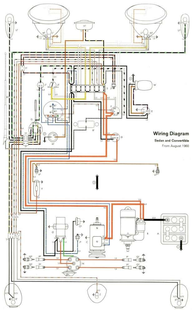 12 Engine Wiring Diagram Vw Bug Engine Diagram Wiringg Net Volkswagen Kevers Vw Kevers Elektrische Bedrading
