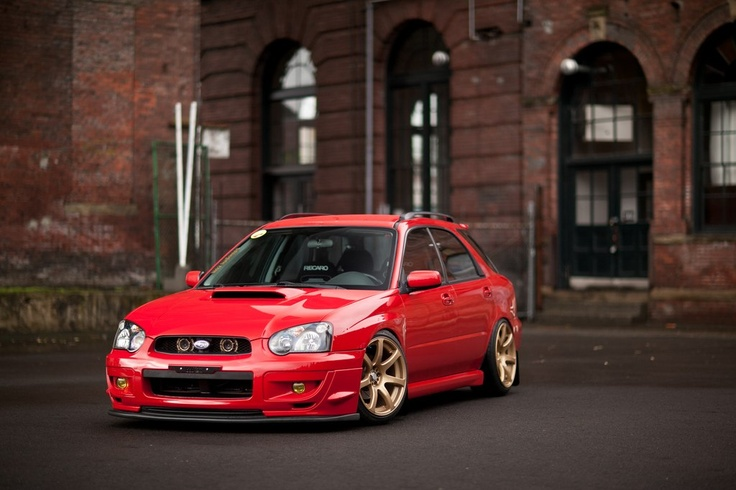 Subaru Impreza Wagon babe would looovvee this