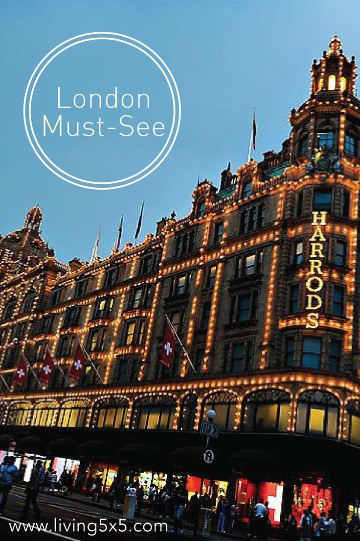 History Meets Modernity In Stunning Style At Harrods, London's World Famous  Department Store Lose