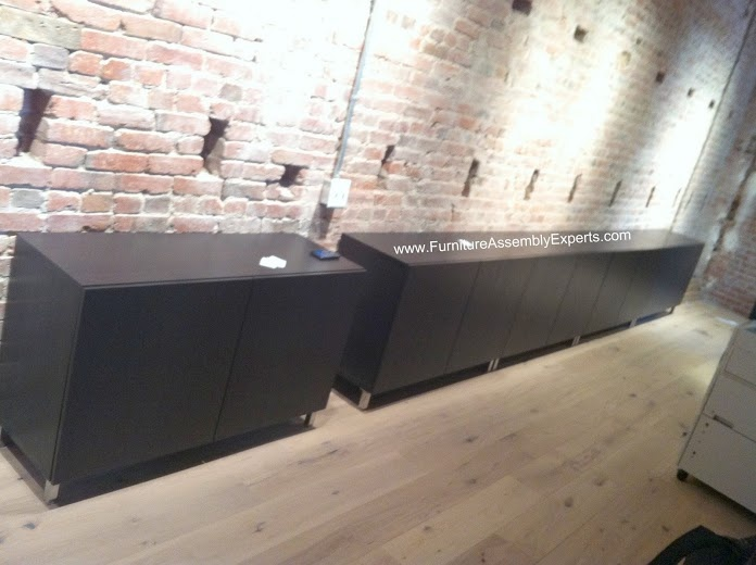Ikea Besta Shelf Unit As The Base Units Office Ideas Pinterest