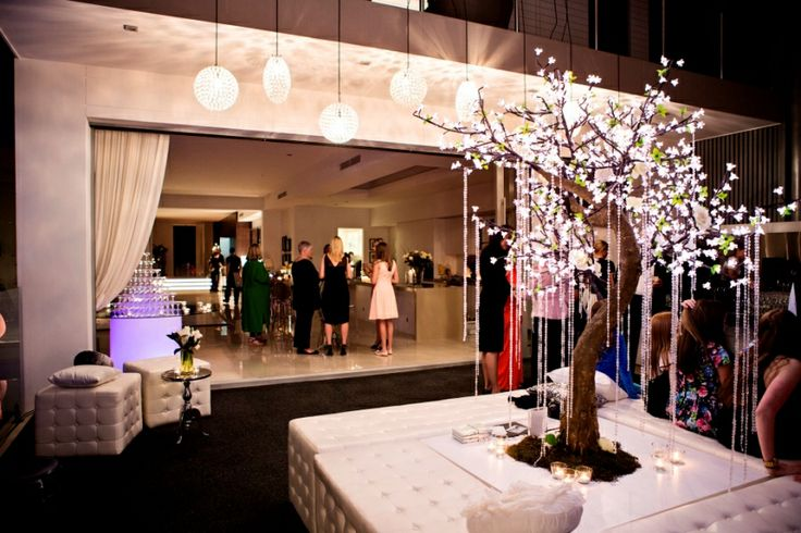 Charmaine's chic glamorous Winter Wonderland birthday celebration by white+white weddings and events.