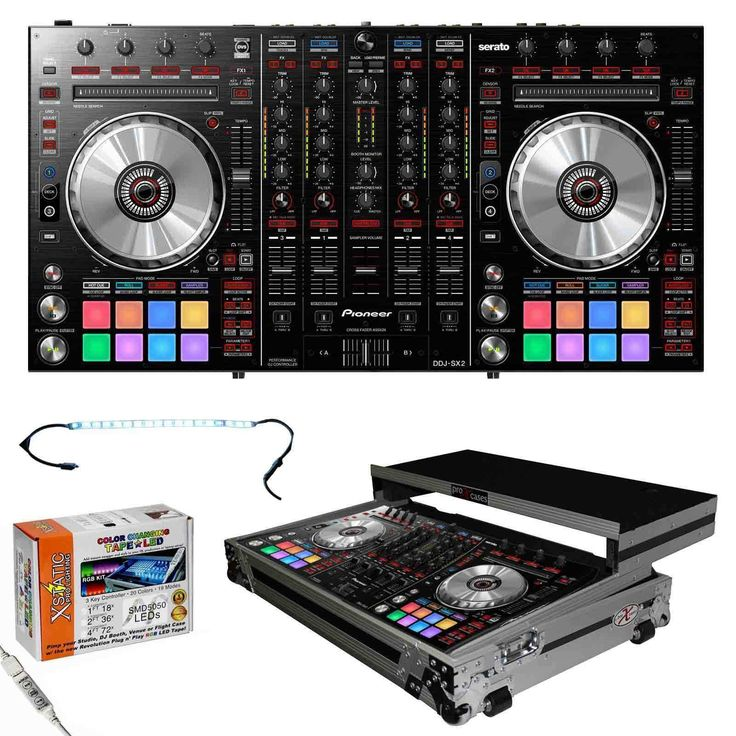 cool Pioneer DDJ-SX2 Efficiency Serato DJ Controller + ATA Flight Case Check more at https://aeoffers.com/product/music-and-instruments/pioneer-ddj-sx2-efficiency-serato-dj-controller-ata-flight-case/