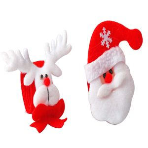 Santa Reindeer Hand Bands Gift your loved ones these fun hand bands with reindeers and Santa's wishing Merry Christmas. Rs 201/- http://www.tajonline.com/gifts-to-india/gifts-X1250.html?aff=pint2014/