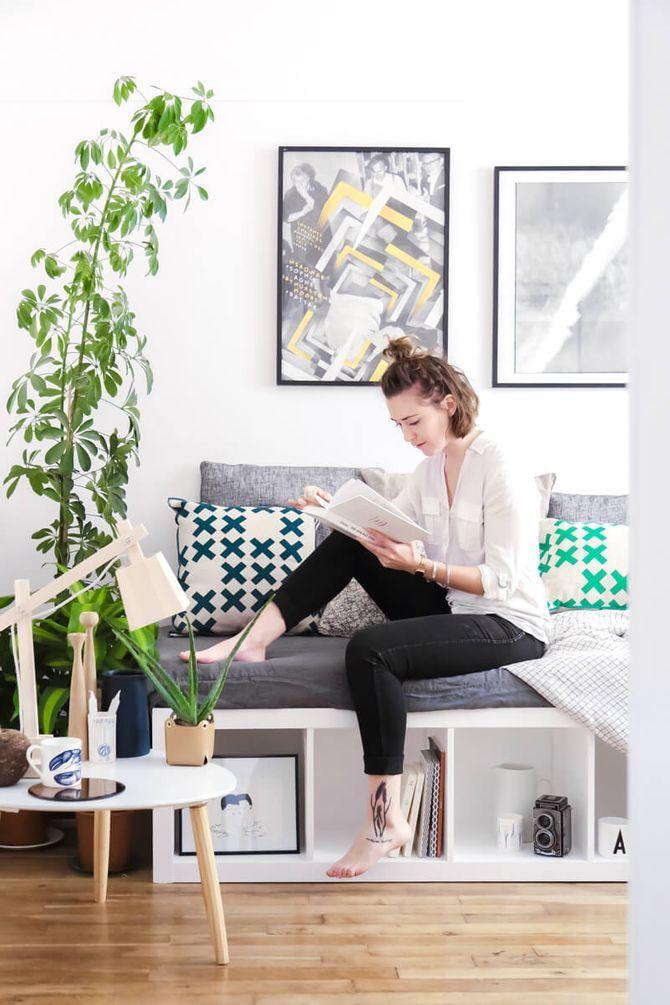 6 Bidouilles Ikea Pour Une Deco Originale Idee Deco Ikea Banquette Avec Rangement Meubles Ikea