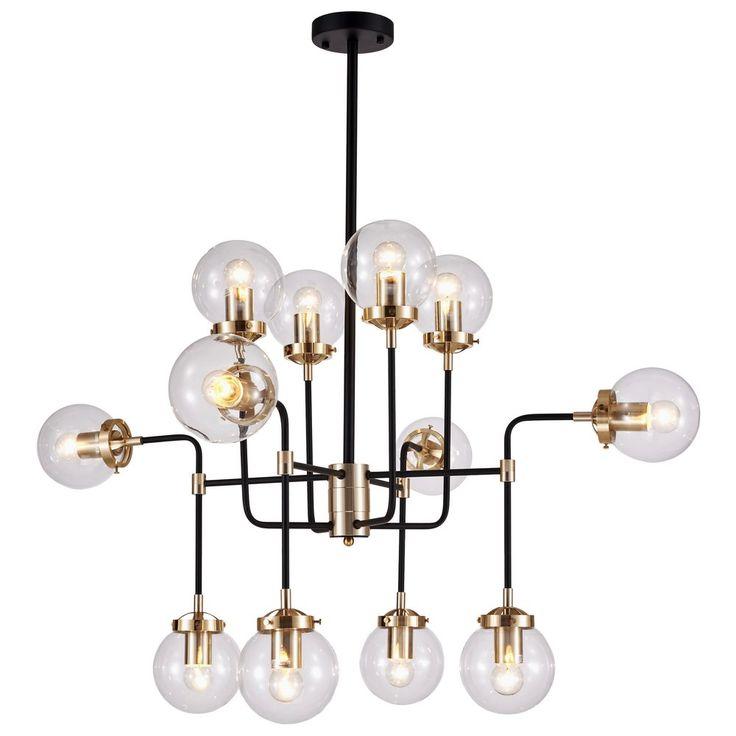 1599 ZŁ ŚWIETNA LAMPA DO WNĘTRZ INDUSTRIALNYCH I MINIMALISTYCZNYCH COSMOLight Lampa wisząca Boston P12826BR