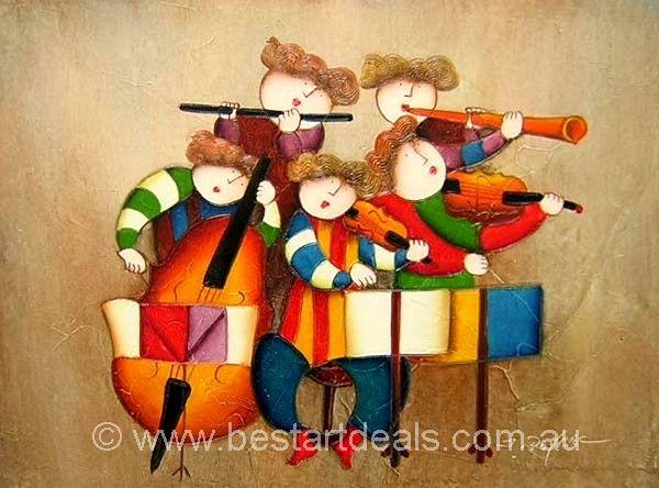 100% Hand Painted Museum Quality Kids oil Paintings. http://bestartdeals.com.au