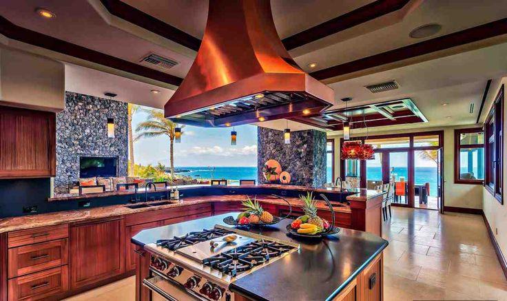 A beleza fascinante das ilhas havaianas é um pano de fundo resplandecente à vista ininterrupta e no