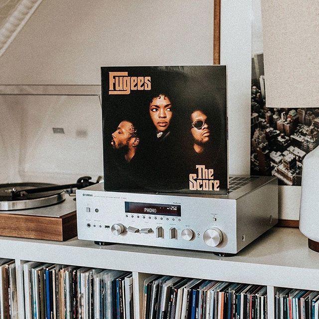 Todays Mood Fu Gee La Fugees The Score 1996 Rp Stevekouta Acrylick Beatscapsule Art Music Style Inspiration Lifestyle Fugees Gees Vinyl Junkies