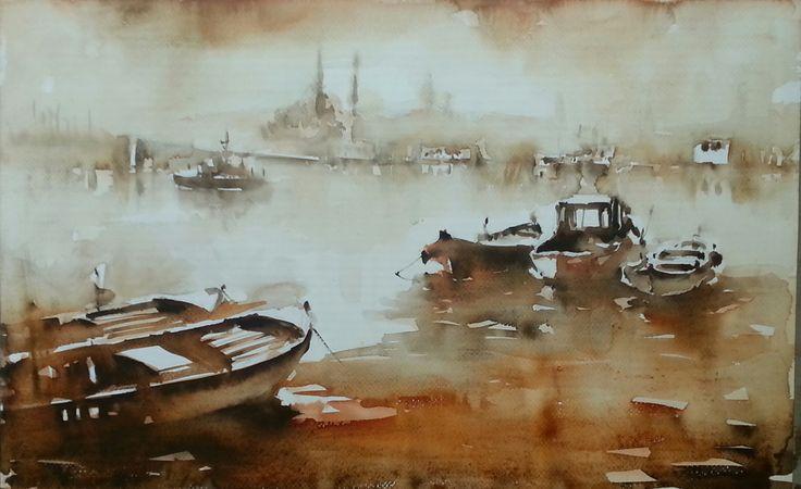 Yenicami ve tekneler 3, Burhan Ozer