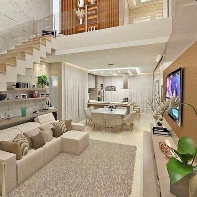 Living Room Desain Rumah Rumah Desain Interior