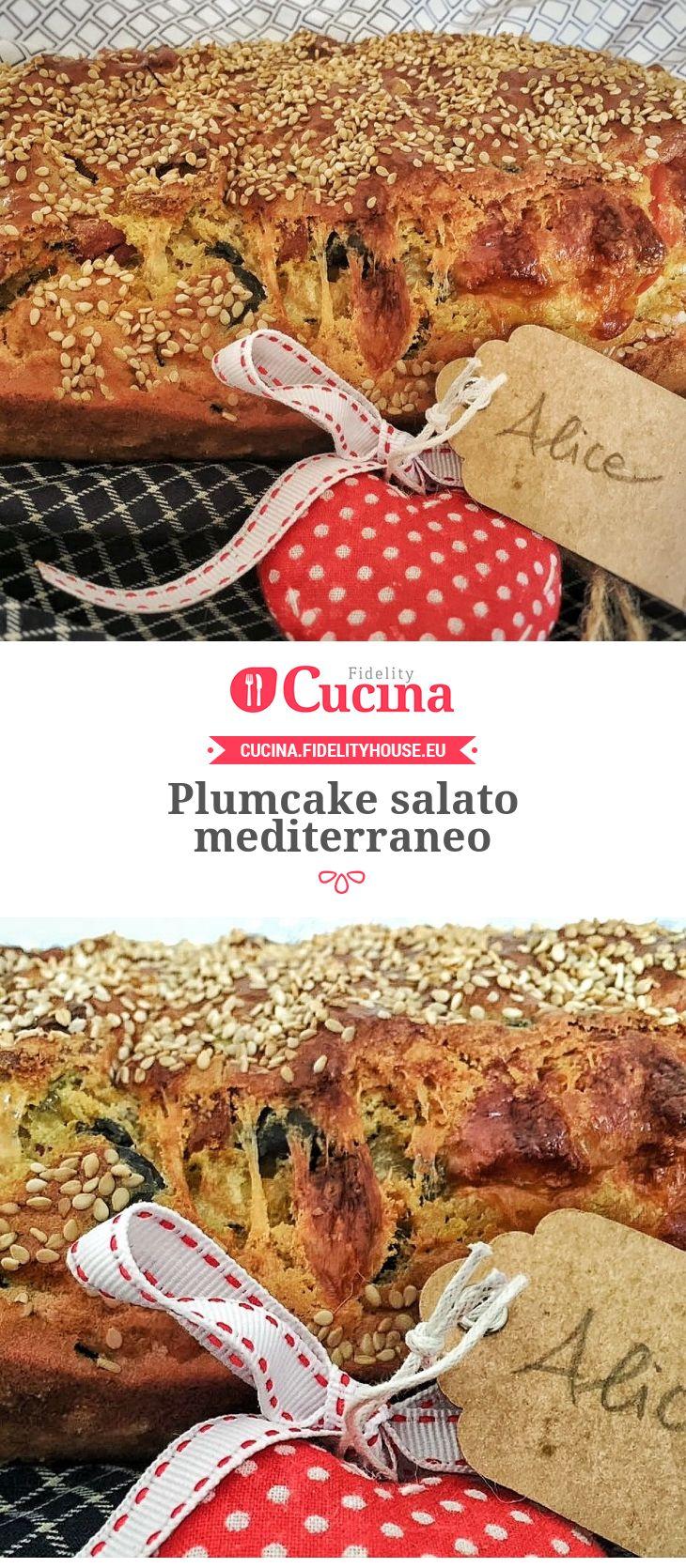 Plumcake salato mediterraneo