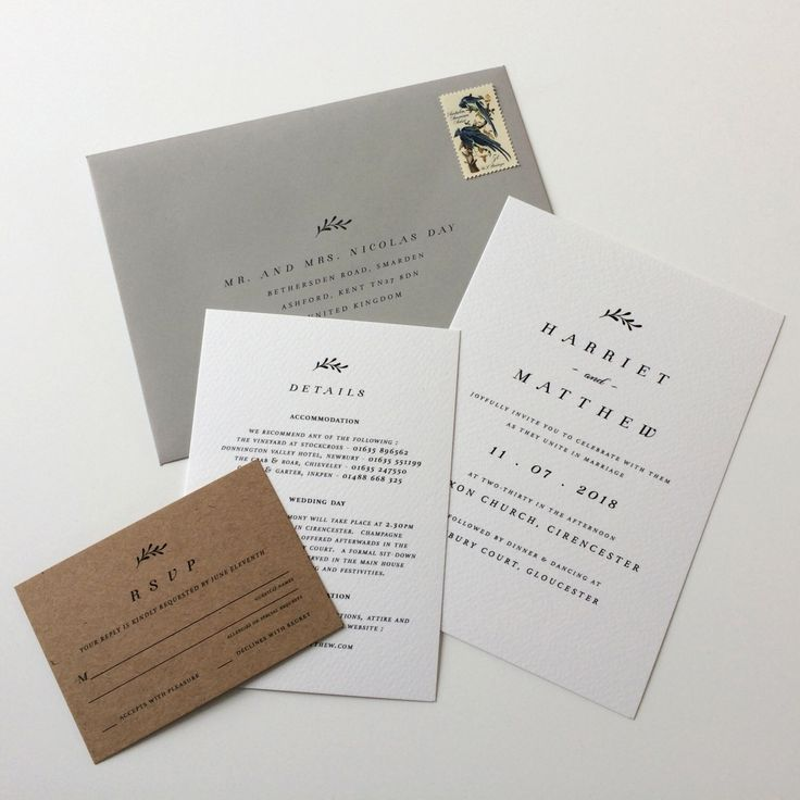 are labels on wedding invitations tacky%0A BOXWOOD   Rustic Wedding Invitations  Kraft Wedding Invites  Wedding Invite   Grey And Kraft