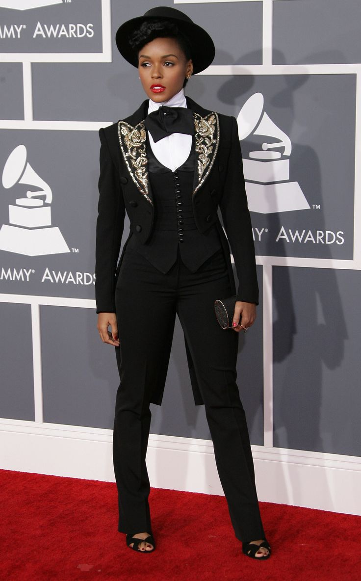 Janelle Monae. Baby girl knows how to rock a SUIT! I LOVE IT!