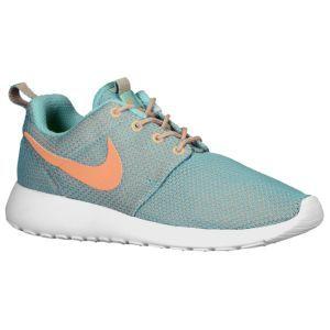 Nike Roshe Run - Women's - Diff Jade/Med Orewood Brown/White/Atomic