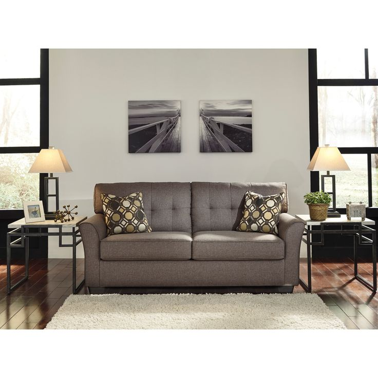 Ashley Furniture Tibbee Sofa In Slate