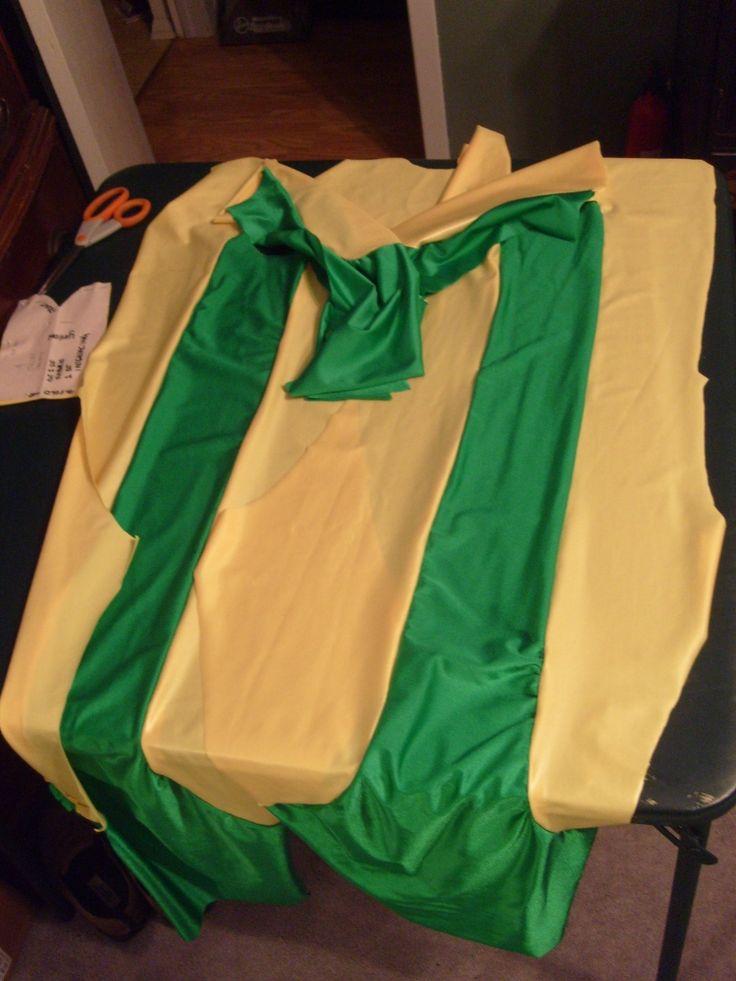Rogue (X-men) jumpsuit tutorial & 39 best Halloween costume ideas images on Pinterest | Sewing ...