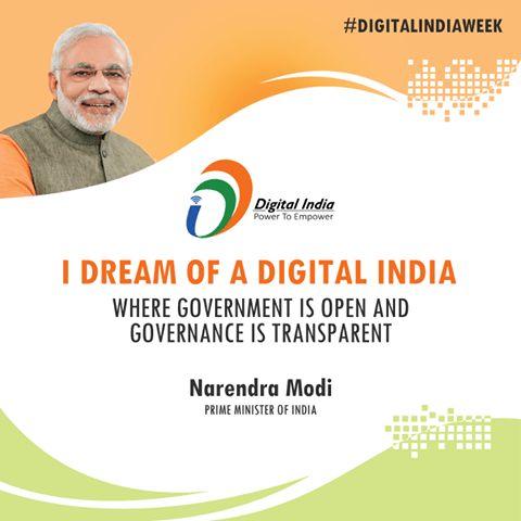 Digital India-A Dream To Make India An Innovative Hub