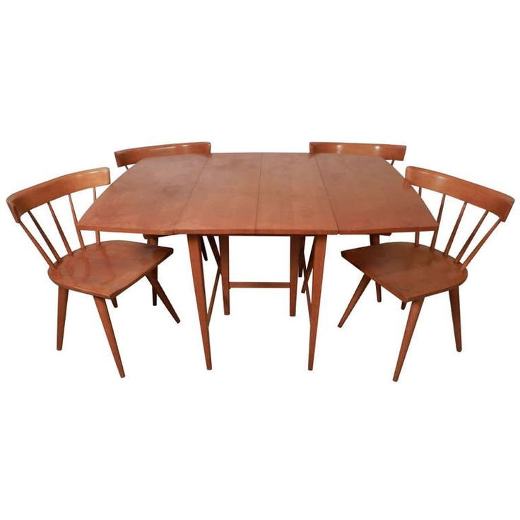 Outstanding Mid Century Modern Dining Set By Paul Mccobb W Leaves From