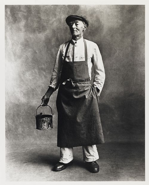 Professions by Irving Penn. The Painter  Post by Hugo Lavín…