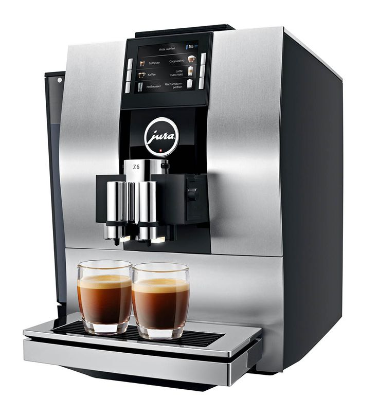 Z6 - JURA Coffee Machines  -  Specialities: Latte Macchiato, Cappuccino, Espresso and Coffee