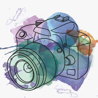 Resultat d'imatges de camara fotos dibujo