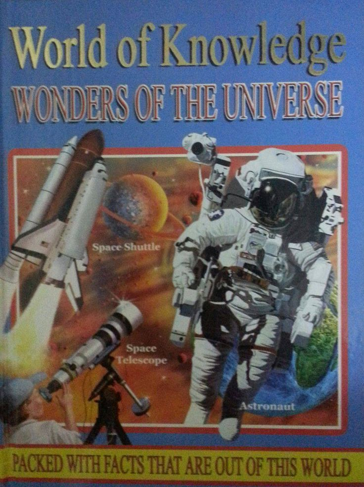 Children's books - World Of Knowledge: Wonders Of The Universe - Bookle