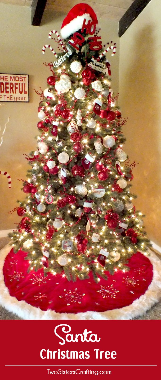 Describing beautiful christmas decorations - I Have Finally Figured Out The Perfect Formula For Christmas Tree Decorating And I Share These