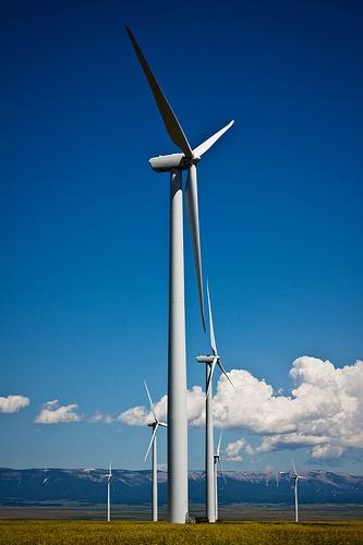 ¿A quien esta imagen le evoca a los antiguos molinos de viento? A mi!!!    Imagen: Flickr