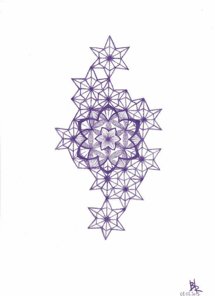 Fractal stars by B1ackRain.deviantart.com on @deviantART