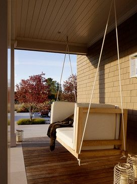 Wine Country Retreat - transitional - Porch - Other Metro - Andrew Mann Architecture