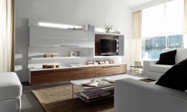 meuble télé design mural