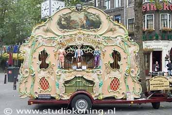 'draaiorgel' (barrel organ)