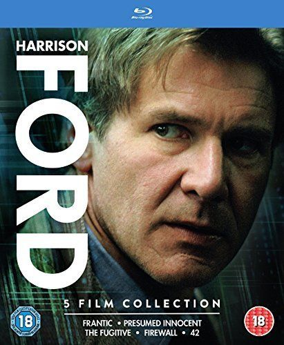 harrison ford 5 film collection frantic presumed innocent the fugitive firewall - Presumed Innocent Movie