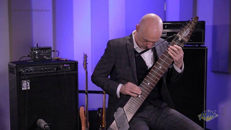 AMS Exclusive Tony Levin Bass Performance - Chapman Stick